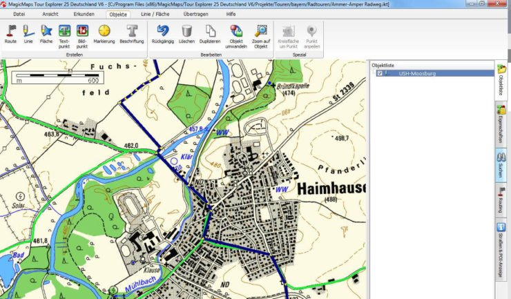 MagicMaps Tour Explorer 25 Version 6