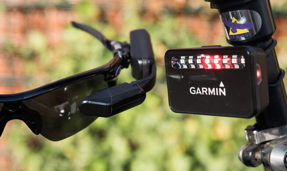 Garmin Varia Radar und Varia Vision Head-Up-Display