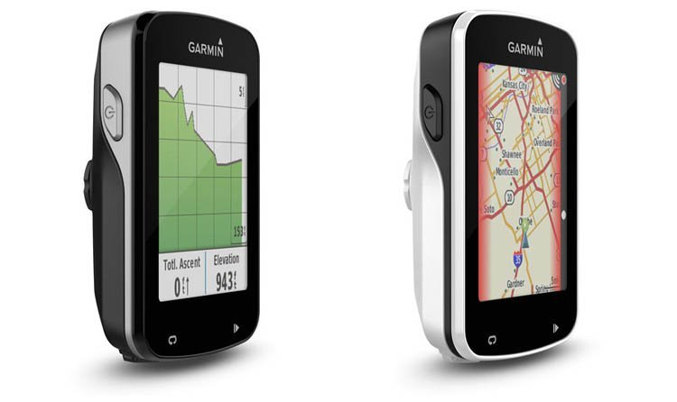 Garmin Edge 820 (links) - Garmin Edge Explore 820 (rechts)