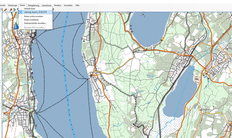 Topographische Karte Deutschland Kostenlos.Velomap Kostenlose Osm Karte Fur Deine Garmin Gps Navigation