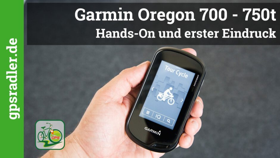 [Video] Garmin Oregon 750t im Hands-on Test