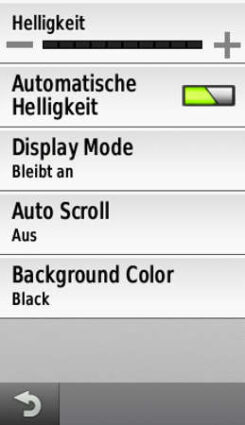 Display Settings Varia Vision
