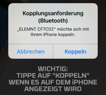 Koppeln Screenshot