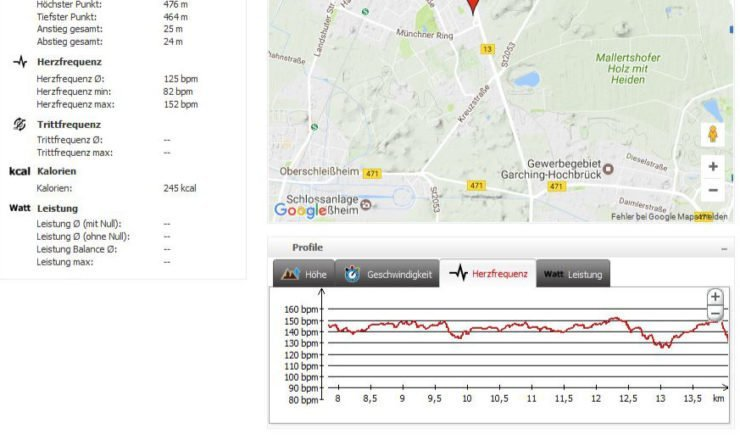 Screenshot Falk Trainingsmanager