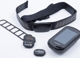 Garmin Oregon mit Fitness Sensoren