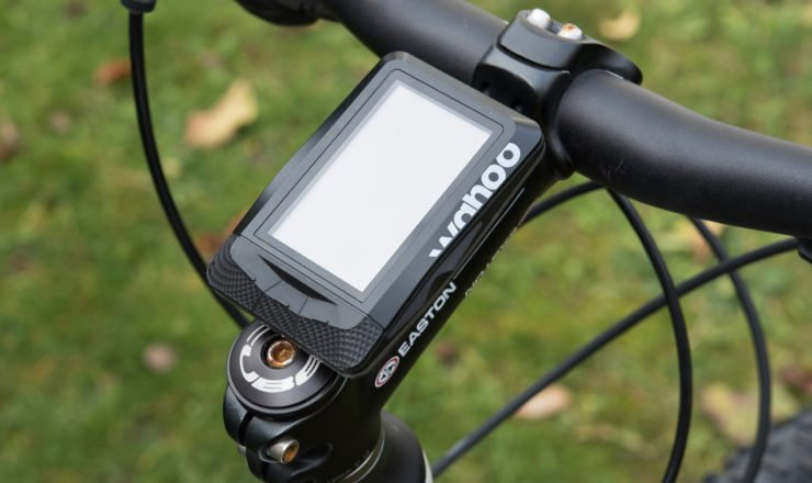Wahoo ELEMNT mit K-Edge adjustable Stem Mount