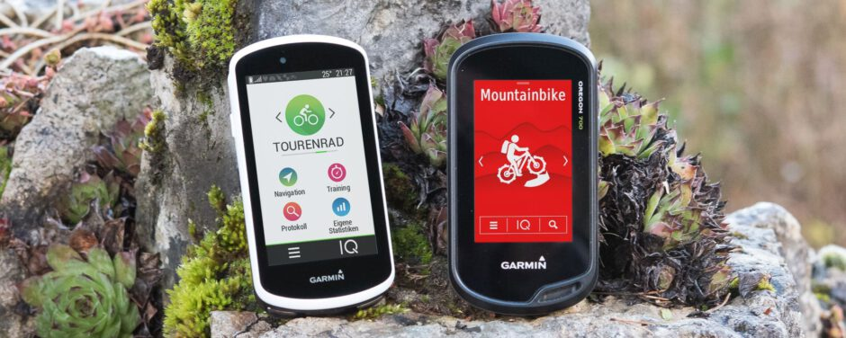 Vergleich: Garmin Oregon – Garmin Edge 1030 Plus