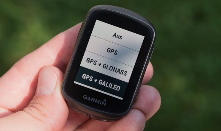 Garmin Edge 130 mit Galileo Support