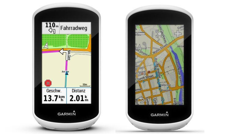 Navigation mit dem Garmin Edge Explore