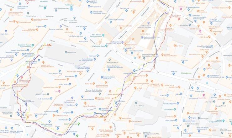 Vergleich GPS - GPS+GLONASS - GPS+ Galileo (Klick macht groß)
