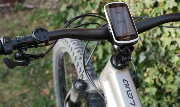 Specialized Turbo Levo mit Garmin Edge 1030 gekoppelt