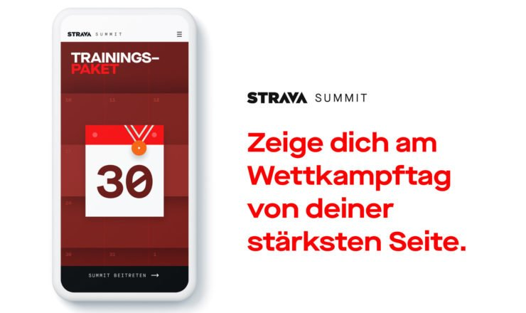 Das neue Strava Trainings Paket
