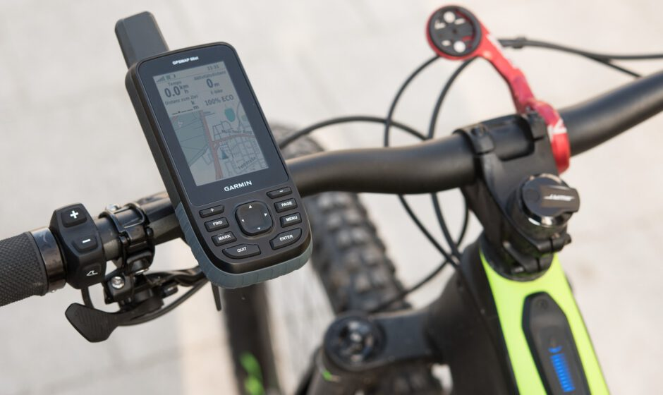 Garmin GPSmap 66st mit Connect IQ Datenfeld Ebike Field