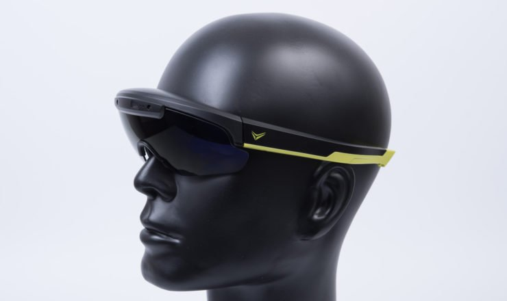 Die Everysight Raptor Brille mit Head-Up-Display