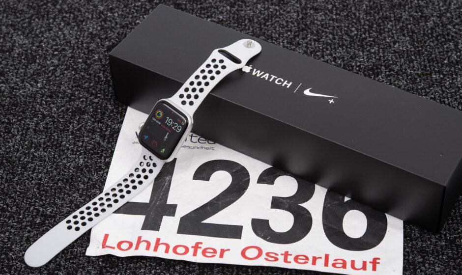Die Apple Watch 4 im Sport Fokus