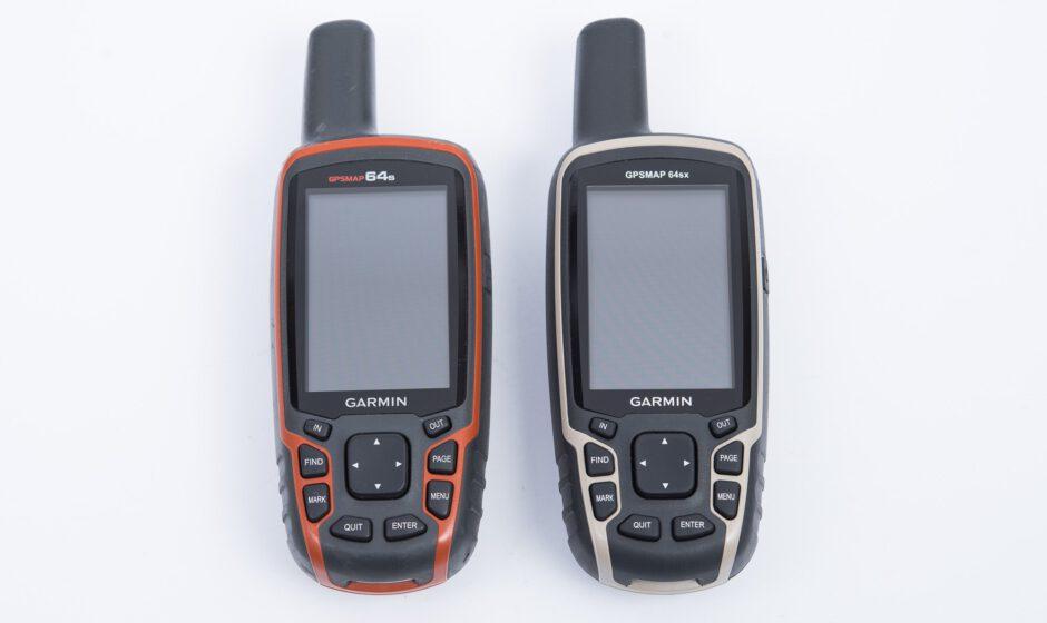 Garmin GPSmap 64s und GPSmap 64sx im Vergleich