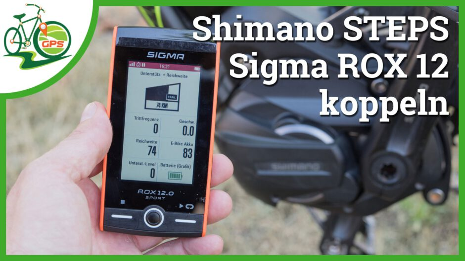 [Video] Shimano STEPS mit Sigma ROX 12 koppeln