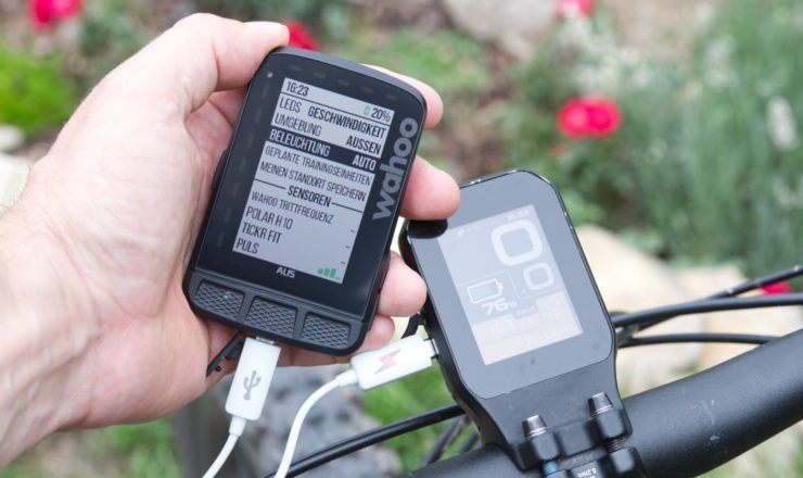 Wahoo ELEMNT ROAM am BH Bike laden