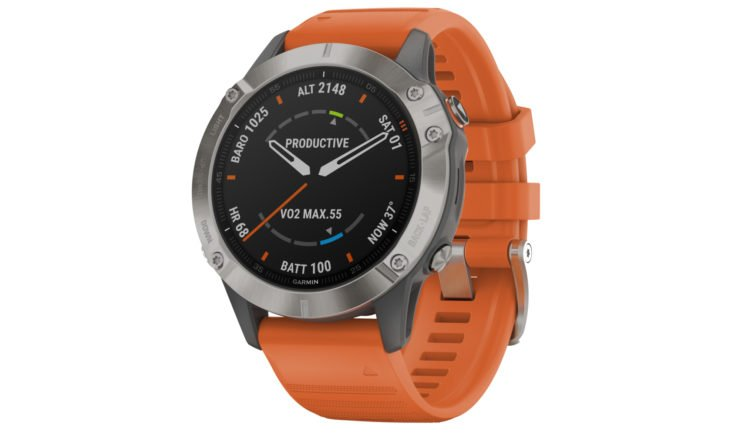 Die Garmin Fenix 6 in der Saphire Edition