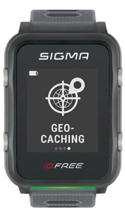 Geocaching Integriation auf der Sigma iD.FREE
