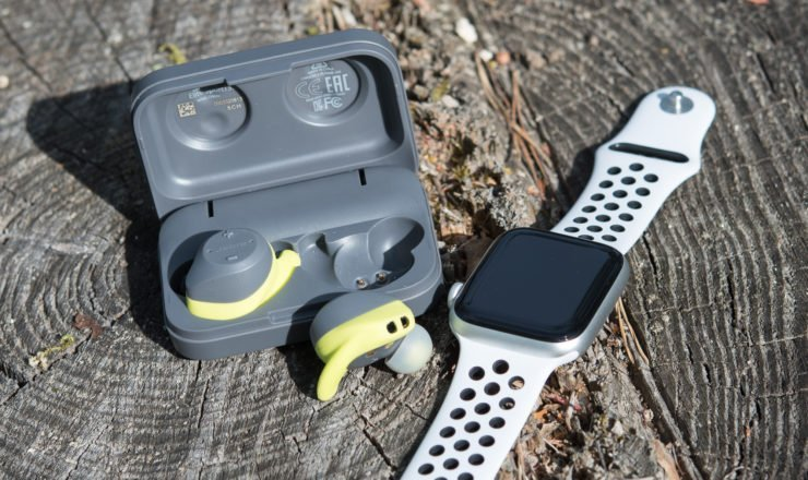 Jabra Elite Sport als Bluetooth Hörer an der Apple Watch