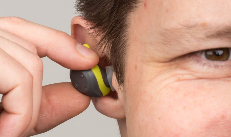 Die Jabra Elite Sport Bluetooth In-Ear Sport Hörer