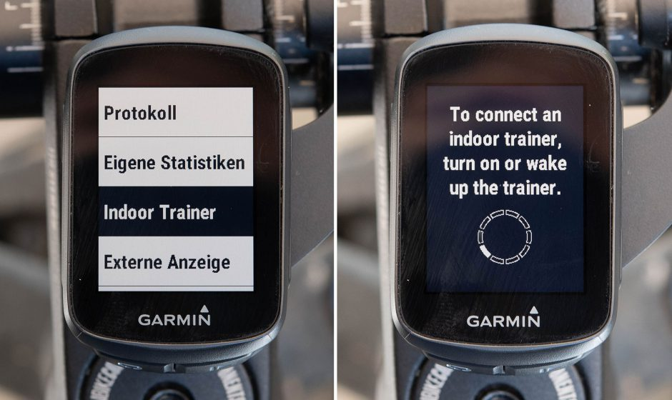 Indoor Trainer im Garmin Edge 130 Plus suchen