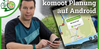 [Video] komoot Routenplanung in der Android App