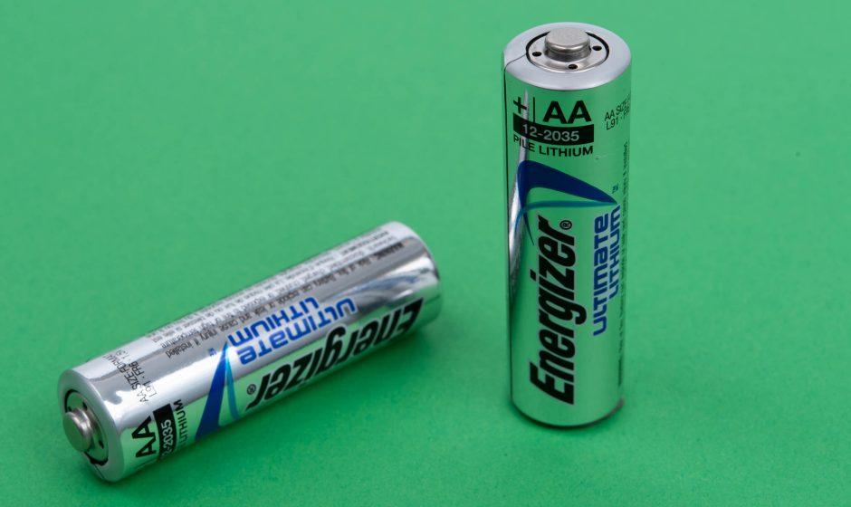 Die Energizer Batterie mit Lithium Technik
